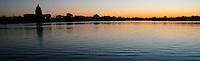 Sunset over Wascana Lake, Regina Saskatchewan