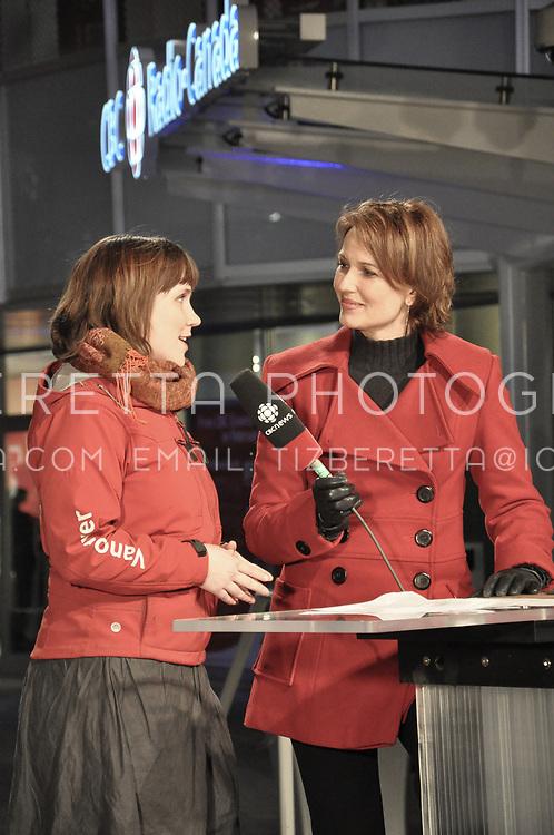 CBC Vancouver News anchor Gloria Macarenko