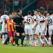 Referee's Huseyin Gocek during their Turkish Super League derby match Galatasaray between Besiktas at the AliSamiYen Spor Kompleksi TT Arena at Seyrantepe in Istanbul Turkey on Sunday, 24 May 2015. Photo by Aykut AKICI/TURKPIX