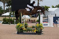Goutal Brianne (USA) - Nice de Prissey<br /> Horseware GP CSI 2*<br /> Wellington 2012<br /> © Hippo Foto - Cealy Tetly