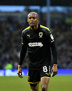 Jimmy Abdou (8) of AFC Wimbledon during the EFL Sky Bet League 1 match between Portsmouth and AFC Wimbledon at Fratton Park, Portsmouth, England on 26 December 2017. Photo by Graham Hunt.