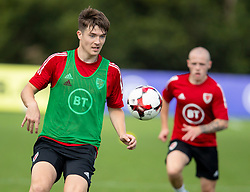 CARDIFF, WALES - Monday, August 31, 2020: Wales' Morgan Boyes (Liverpool FC) during a training session at the Vale Resort ahead of the UEFA Under-21 Championship Qualifying Round Group 9 match between Bosnia and Herzegovina and Wales. (Pic by David Rawcliffe/Propaganda)