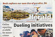 Everett Daily Herald: Cover (12 October 2014)