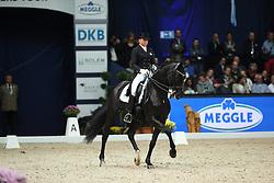 Schneider Dorothee, (GER), Ullrich Equine's St Emilion<br /> Grand Prix  Kür Dressage München 2015<br /> © Hippo Foto - Stefan Lafrentz