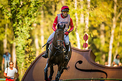 Tapner Paul (AUS) - Counter Party<br /> Cross country 6 years old horses<br /> Mondial du Lion - Le Lion d'Angers 2014<br /> © Dirk Caremans<br /> 18/10/14