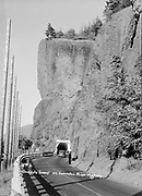 """9305-B7069. """"Oneonta Tunnel on Columbia River Highway"""""""