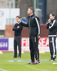 Ross County's manager Jim McIntrye. Dundee 1 v 1 Ross County, SPFL Ladbrokes Premiership played 13/5/2017 at Dens Park.