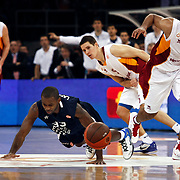Anadolu Efes's Oliver Lafayette (C) during their Euroleague Top 16 basketball match Galatasaray MP between Anadolu Efes at the Abdi Ipekci Arena in Istanbul at Turkey on Wednesday, February, 22, 2012. Photo by TURKPIX