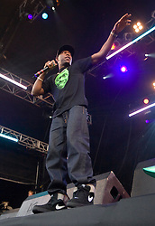 Dizzee Rascal on the main stage. Rockness, Saturday 13th June 2009..Pic © Michael Schofield. All Rights Reserved.