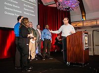 """Awards ceremony at the """"W"""" Hotel in Chicago"""