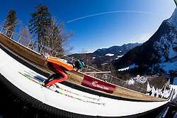 Forejumper Matic Kramarsic of Slovenia during Ski Flying Hill Team Competition at Day 3 of FIS Ski Jumping World Cup Final 2016, on March 19, 2016 in Planica, Slovenia. Photo by Vid Ponikvar / Sportida