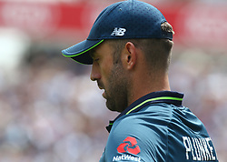 June 13, 2018 - London, England, United Kingdom - England's Liam Plunkett .during One Day International Series match between England and Australia at Kia Oval Ground, London, England on 13 June 2018. (Credit Image: © Kieran Galvin/NurPhoto via ZUMA Press)