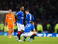 Football - 2019 Betfred Scottish League Cup Final - Celtic vs. Rangers<br /> <br /> Jermaine Defoe of Rangers is dejected at full time, Hampden Park Glasgow.<br /> <br /> COLORSPORT/BRUCE WHITE