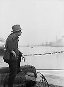 Docks, Out of Work, London, England, 1934