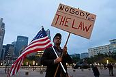 Red Line Protest Against Trump Dallas Tx