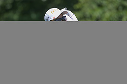 May 6, 2018 - The Colony, TX, U.S. - THE COLONY, TX - MAY 06: Ayako Uehara (JPN) hits from the 4th tee during the Volunteers of America LPGA Texas Classic on May 6, 2018 at the Old American Golf Club in The Colony, TX. (Photo by George Walker/Icon Sportswire) (Credit Image: © George Walker/Icon SMI via ZUMA Press)