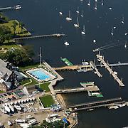Manhasset Bay aerial photograph.