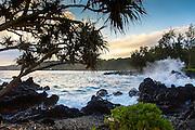 Sunrise, Keanae Peninsula, Hana Road, Maui, Hawaii