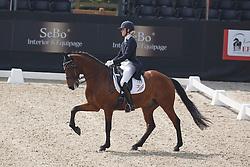 Huberts Carlijn, (NED), Romeo<br /> Roelofsen Horse Trucks Prijs - Juniors Team Test<br /> Dutch Championship Dressage - Ermelo 2015<br /> © Hippo Foto - Dirk Caremans<br /> 17/07/15
