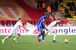 January 19, 2019 - Monaco, France - 44 CESC FABREGAS (MONA) - 18 IBRAHIMA SISSOKO  (Credit Image: © Panoramic via ZUMA Press)