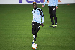 February 13, 2019 - MalmÃ, Sweden - 190213 Bonke Innocent of Malmö FF during a training session ahead of the Europa League match between Malmö FF and Chelsea on February 13, 2019 in Malmö..Photo: Ludvig Thunman / BILDBYRÃ…N / kod LT / 35599 (Credit Image: © Ludvig Thunman/Bildbyran via ZUMA Press)