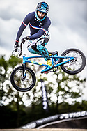 #137 (GAROYAN Leo) FRA during practice at Round 3 of the 2019 UCI BMX Supercross World Cup in Papendal, The Netherlands