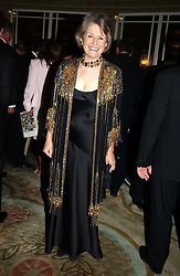SHIREEN RITCHIE step mother of Guy Ritchie, wife of Madonna at the Dyslexia Awards Dinner 2004 held at The Dorchester, Park Lane, London on 2nd November 2004.<br /><br />NON EXCLUSIVE - WORLD RIGHTS