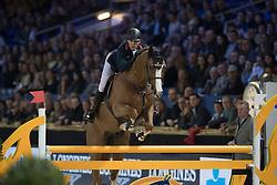 Clee Joe, GBR, De Flor 111 Z<br /> Young Stallions 5 years of age<br /> Vlaanderens Kerstjumping Memorial Eric Wauters<br /> © Dirk Caremans<br /> 27/12/2016