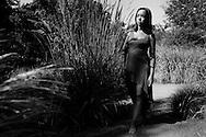 Shelby Cain senior photos, Denver Botanic Gardens, Denver, Colo.