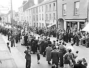New Street Killarney in the 1950's.<br /> Photo: macmonagle.com archive<br /> <br /> Killarney Now & Then - MacMONAGLE photo archives.<br /> Facebook - @killarneynowandthen