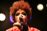 Cimiez-Nice, France. July 25th 2007.Lauryn Hill performs during the Nice jazz Festival.