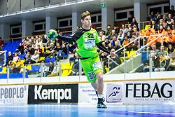 10.12.2017, BSFZ Suedstadt, Maria Enzersdorf, AUT, HLA, SG INSIGNIS Handball WESTWIEN vs Bregenz Handball, Hauptrunde, 16. Runde, im Bild Sebastian Frimmel (SG INSIGNIS Handball WESTWIEN) // during Handball League Austria 16 th round match between SG INSIGNIS Handball WESTWIEN and Bregenz Handball at the BSFZ Suedstadt, Maria Enzersdorf, Austria on 2017/12/10, EXPA Pictures © 2017, PhotoCredit: EXPA/ Sebastian Pucher