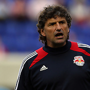 New York Red Bulls Assistant Coach Jan Halvor Halvorsen during the New York Red Bulls V Chivas USA Major League Soccer match at Red Bull Arena, Harrison, New Jersey, 23rd May 2012. Photo Tim Clayton