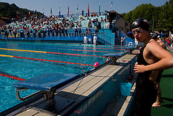Tjasa Vozel of Ilirija at 36th International swimming meeting City of Ljubljana Cup, on May 22, 2011 in Kodeljevo pool, Ljubljana, Slovenia. (Photo By Vid Ponikvar / Sportida.com)