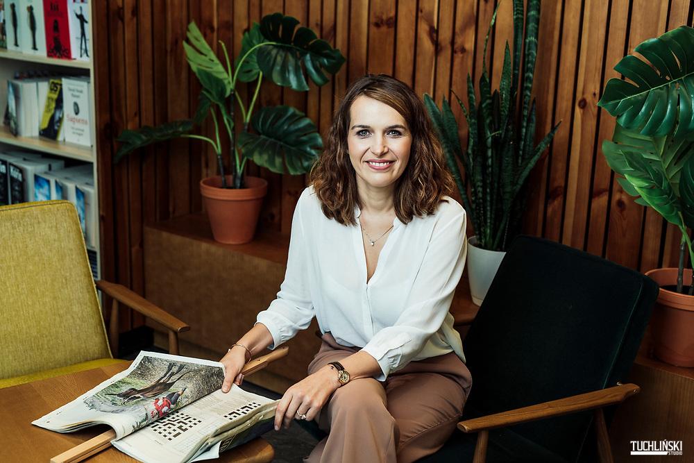 Warszawa, Polska. 04.10.2019<br /> Ewa Szmidt - Belcarz prezes Empik Sp. z o.o.<br /> Fot. Adam Tuchlinski dla Forbes