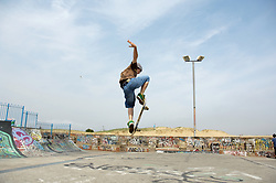 Skateboard park; South Shields; Tyneside UK