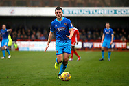 Grimsby Town midfielder James Berrett (7) during the EFL Sky Bet League 2 match between Crawley Town and Grimsby Town FC at the Checkatrade.com Stadium, Crawley, England on 10 February 2018. Picture by Andy Walter.