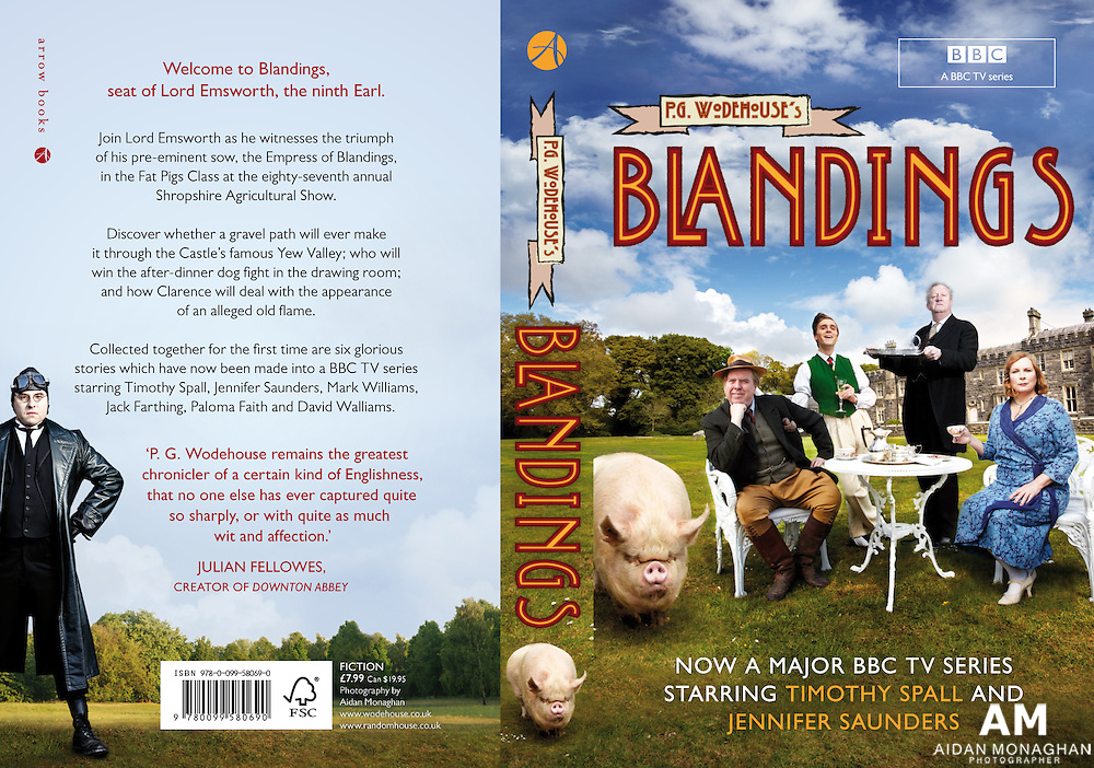 Blandings- BBC One 2012<br /> The celebrated stories of PG Wodehouse will be coming to life on BBC One as Timothy Spall and Jennifer Saunders star in Blandings, a new comedy series written by Guy Andrews and based on Wodehouse's work.<br /> <br /> PG Wodehouse is hailed as one of the greatest comic writers in the English Language, and Controller of BBC One, Danny Cohen is very excited about bringing the tales to a new generation of TV viewers.<br /> <br /> The six self-contained episodes will be set 1929, and will be filmed on location in Northern Ireland with the support of Northern Ireland Screen. Timothy Spall will play the amiable and befuddled Lord Emsworth (Clarence to his friends), with Jennifer Saunders as his indomitable sister Connie.