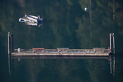 Stuart Island State Park Moorage Site at Reid Harbor, Stuart Island, Washington, US