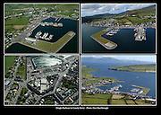 Aerial views of Dingle Harbour.<br /> Picture: Don MacMonagle - macmonagle archive<br /> e: info@macmonagle.com
