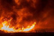 Przez całą noc gaszono wielki pożar w Biebrzańskim Parku Narodowym