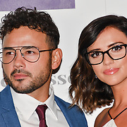 Ryan Thomas and Lucy Mecklenburgh  attend Spectacle Wearer of the Year 2018 at 8 Northumberland avenue, on 23 October 2018, London, UK.