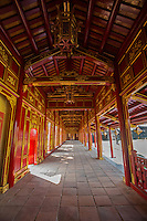 Behind the palaces of the Imperial Enclosure, the Forbidden Purple City was once reserved for the personal use of the emperor of Vietnam and the imperial family.