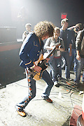 Monotonix performs at Blender Theater during CMJ Music Marathon in New York City on October, 25, 2008.