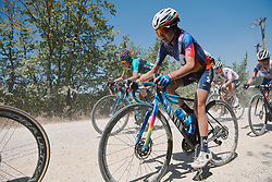 Eider Merino (ESP) at Strade Bianche - Elite Women 2020, a 136 km road race starting and finishing in Siena, Italy on August 1, 2020. Photo by Sean Robinson/velofocus.com