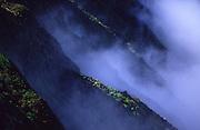 Clouds and ridges, Waialeale, Kauai, Maui<br />