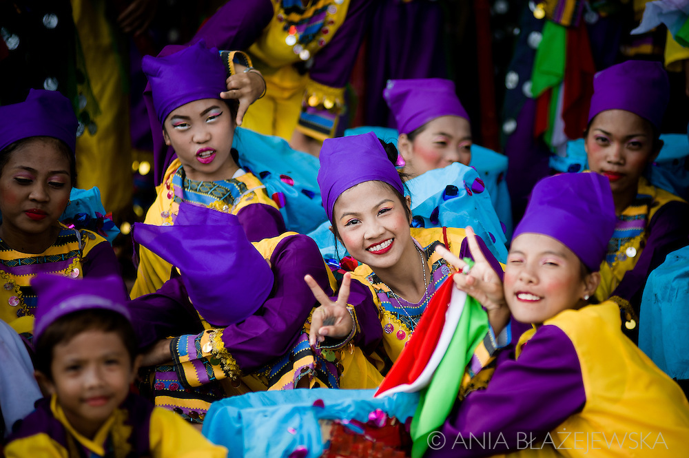 "Aliwan Fiesta is the annual ""mother of festivals"" in the Philippines, which is usually organized in mid-April in Manila. In this incredibly colourful event take part champions - the best contingents of the best Filipino festivals, fabulous not only on the scene, but also in the backstage, where it's possible to admire their extraordinary outfits.<br />