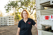Brenda Thomas, CEO of Orchard View Cherries in The Dalles, Oregon.