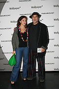 LEILA ARAD; RON ARAD, Celebrate the second guest editors issue. Pre-launch of  Paramount at Centrepoint.London 16 September 2008. *** Local Caption *** -DO NOT ARCHIVE-© Copyright Photograph by Dafydd Jones. 248 Clapham Rd. London SW9 0PZ. Tel 0207 820 0771. www.dafjones.com.