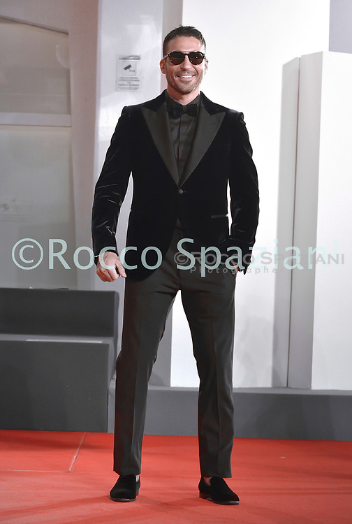 """VENICE, ITALY - SEPTEMBER 11:Miguel Ángel Silvestre walks the red carpet ahead of the movie """"30 Monedas"""" (30 Coins) - Episode 1 at the 77th Venice Film Festival on September 11, 2020 in Venice, Italy. <br /> (Photo by Rocco Spaziani)"""
